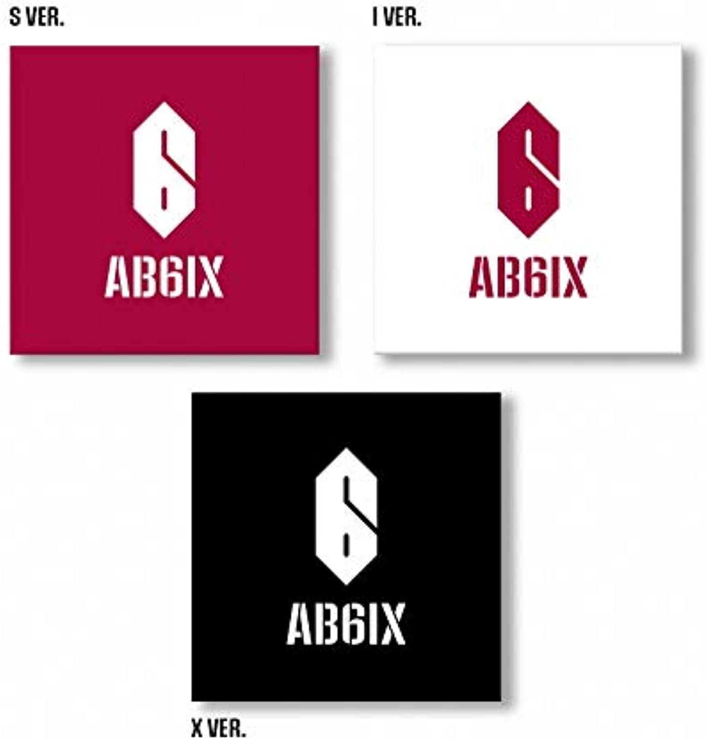 Brandnewmusic AB6IX  B Complete (1st EP) [S+I+X ver. Set] 3CD+3Photobooks+3Group Standing Dolls+3Photocards+3Group Photocards+3Bookmarks+3Stickers+3Folded Posters