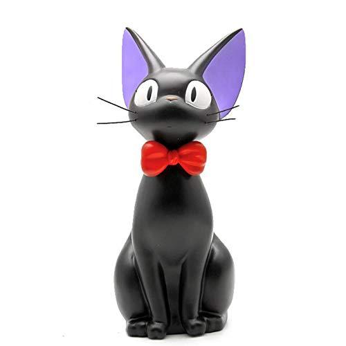 CLSMYLFB Hucha de gato negro caja de ahorro de animales caja de dinero caja de dinero animal banco de monedas decoración del hogar estilo moderno hucha figuras regalo para niños 16,5 x 25,5 cm