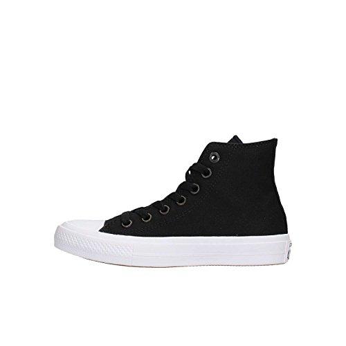 Converse CT II Hi, Sneakers Unisex Adulto, Noir, 35 EU