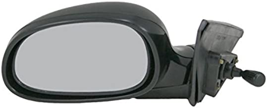 Manual Remote Mirror LH Left Driver Side for 92-95 Honda Civic 4 Door Sedan