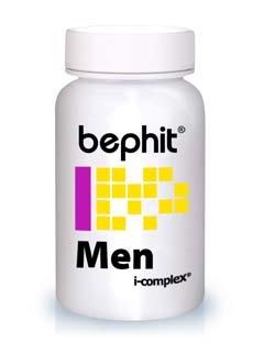 Bephit Men Muira Puama + Maca + L-Arginina + Ginseng 525 Mg Suplemento - 80 Cápsulas