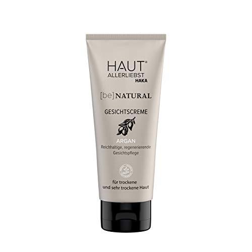 HAKA Gesichtscreme Argan I 100 ml Tube I Anti-Oxidations-Effekt I Für trockene und sehr trockene Haut