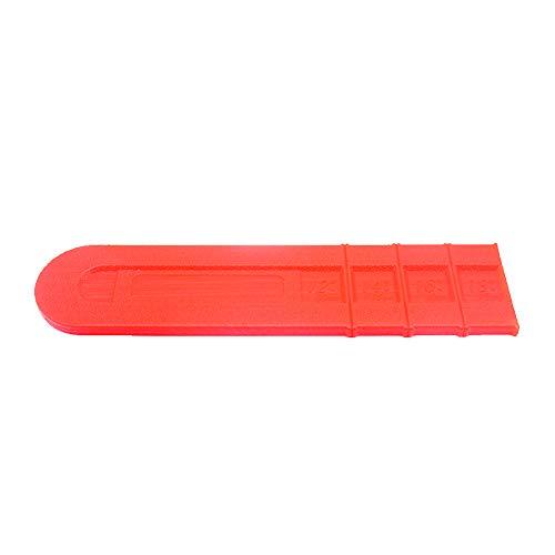 Piezas cortador funda naranja duraderas plástico protector 18 pulgadas