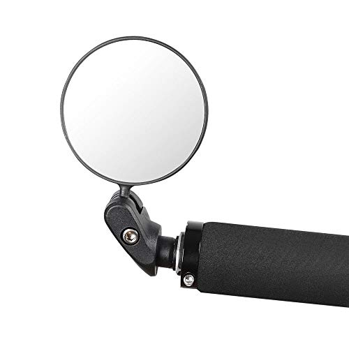Struggling D Bike Handlebar Bike Mirror, Safe Rearview Mirror, 360°Rotated Adjustable Bike Rearview Bicycle Mirror, Cycle Mirror Applicable for Both Left and Right Side
