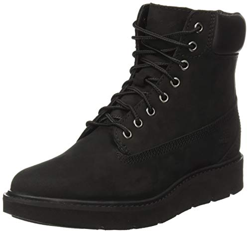 Timberland Kenniston 6 inch Lace Up, Stivali Donna, Nero (Black Nubuck 001), 36 EU