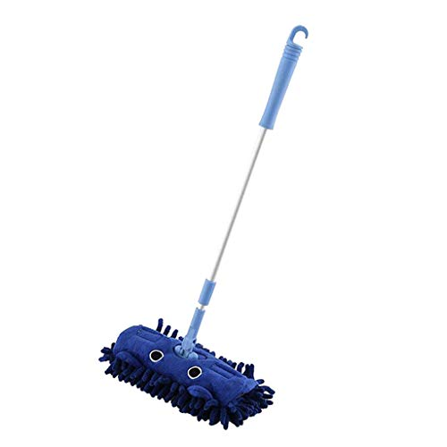 Toygogo Mini Wischmop Spielzeug Reinigungsmop Lernspielzeug - Blau