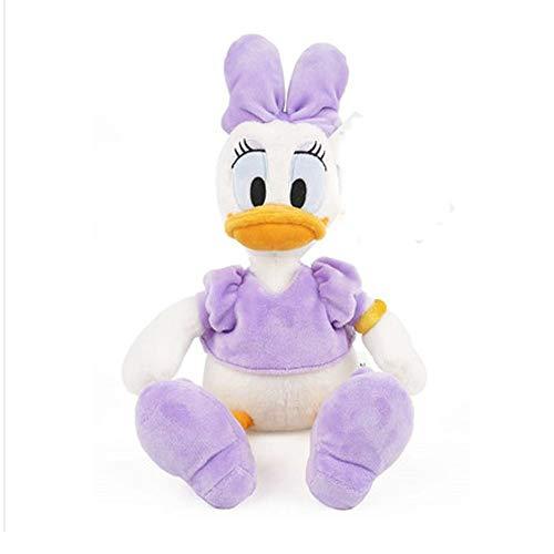HUOQILIN Pato Donald Juguetes De Peluche De Felpa Animales Cojines De Almohada De Algodón Suave Abrazan Decoración (Color : A)