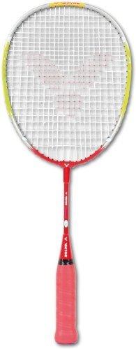 VICTOR Badmintonschläger Advanced, Grün/Rot, 53.0 cm, 116/5/3 by Victor