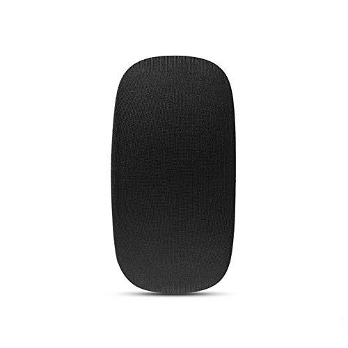 ZengBuks Bolsa de Almacenamiento de Funda de Transporte Suave para Apple Magic Mouse Funda de protección de Telas elásticas Bolsa de Almacenamiento de ratón - Gris Oscuro