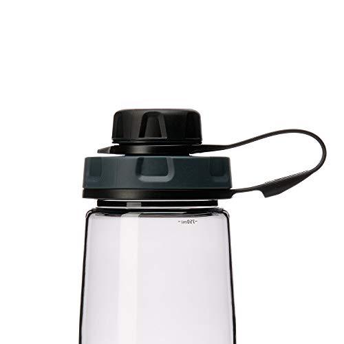 humangear Capcap+ Flaschendeckel schwarz für Ø 5,3 cm