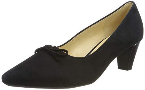 Gabor Shoes Gabor Basic, Scarpe con Tacco Donna, Blu (Pazifik 16), 42 EU