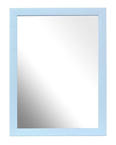 Inov8 Miroir Traditionnel 20 x 25 cm, Bois, Kayla Lot de 2–Noir, Bleu, A4