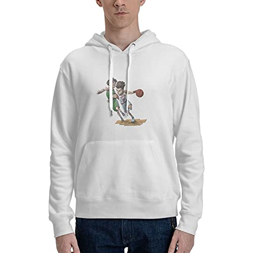Rononand Slam Dunk Cotton Hoodies Comfortable Clothes Adult Hoodies Suitable For Traveling/Home/Outdoor S