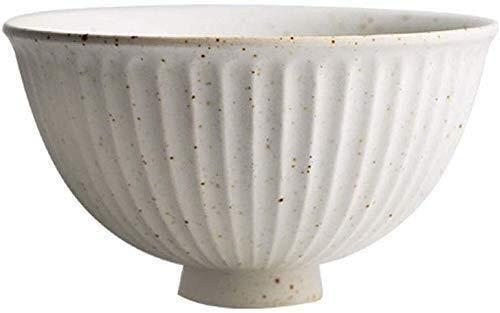 HJXSXHZ366 Keramikschale Snack dip Spray mit Isolierverglasung -Geschirr Schüssel große Schale Reis Salatplatte Obstteller Haushaltsutensilien Bowl (Size : 11.5cm/4.5in)