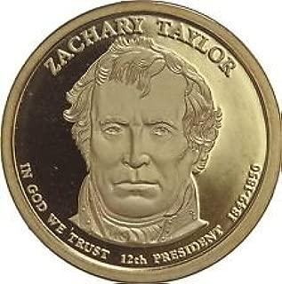 2009 S Zachary Taylor Cameo Dollar GEM Proof US Mint
