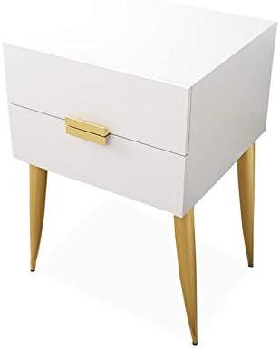 HUGUJ Nordic Bedroom Bedside Table Now free shipping Solid Simple Over item handling Wood Stor Modern