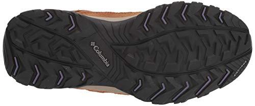 Columbia Women's Crestwood Mid Waterproof Hiking Boot Shoe, Oatmeal/Beach, 7.5