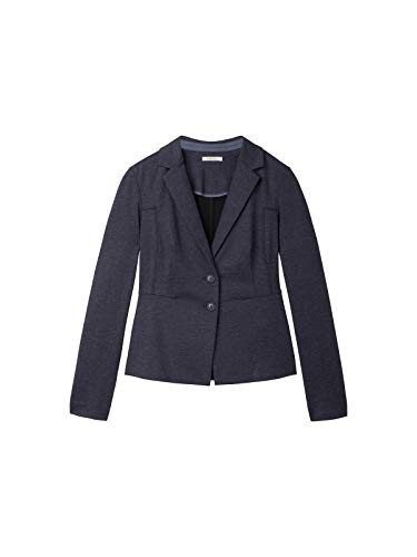 Sandwich Punto Milano Blazer in denim-look
