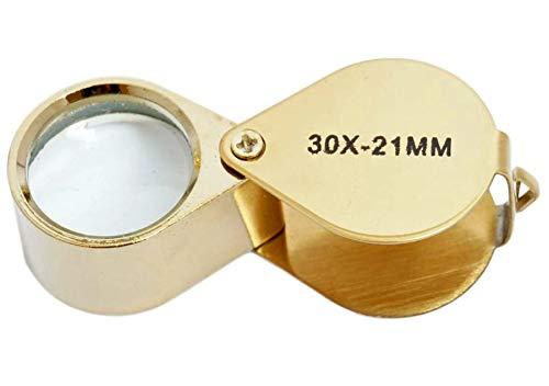 Uhrmacherlupe Taschenlupe 30x Uhrmacher Okular Juwelier Lupe Vergrößerungsglas