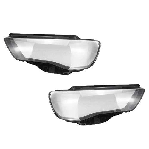 lilili Scheinwerfer Glasabdeckung Autozubehör Auto Klar Scheinwerfer Objektivabdeckung Ersatz Scheinwerfer Shell Cover Fit for Audi A3 2013-2016 Auto-Scheinwerfer-Abdeckung Shell (Color : Clear)