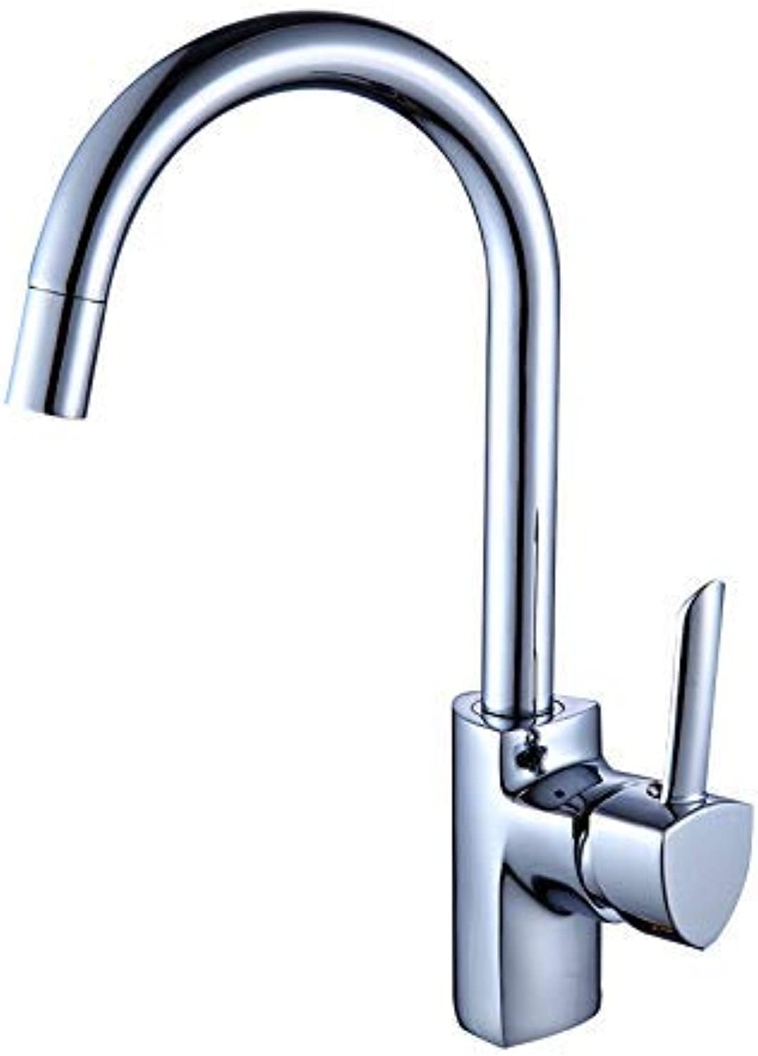 Oudan Kitchen Vegetables Basin Faucet Hot and Cold Taps Plating (color   -, Size   -)