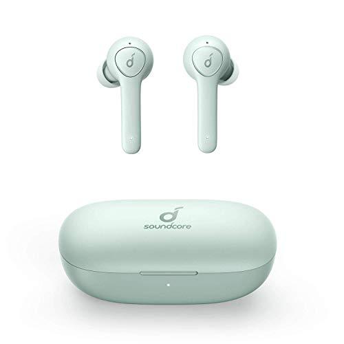 Soundcore Life P2 Bluetooth Kopfhörer, Wireless Earbuds mit CVC 8.0 Geräuschisolierung für kristallklares Klangprofil, 40 Stunden Akkulaufzeit, IPX7 Wasserschutzklasse(Generalüberholt)