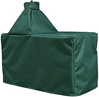 Mini Lustrous Cover for Large Big Green Egg, Large Ceramic Egg Type Kamado Table Cover with Heavy Duty and Waterproof Fabric, Large