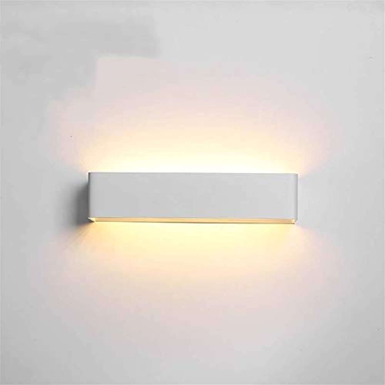 LED-Wandleuchte, moderne Acryl-Wandleuchte LED-Wandleuchte Wohnzimmerlampe Schlafzimmerlampe Korridorwandleuchte LED-Nachtlicht, wei