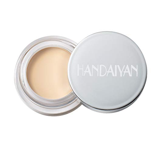 Foundation Concealer, Smooth Brightening Cream Concealer Full Coverage Concealer Makeup and Corrector for Under Eye Dark Circles (A)