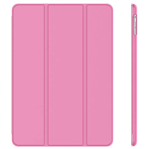 JETech Case for iPad Air 1st Edition (NOT for iPad Air 2), Smart Cover Auto Wake/Sleep, Pink