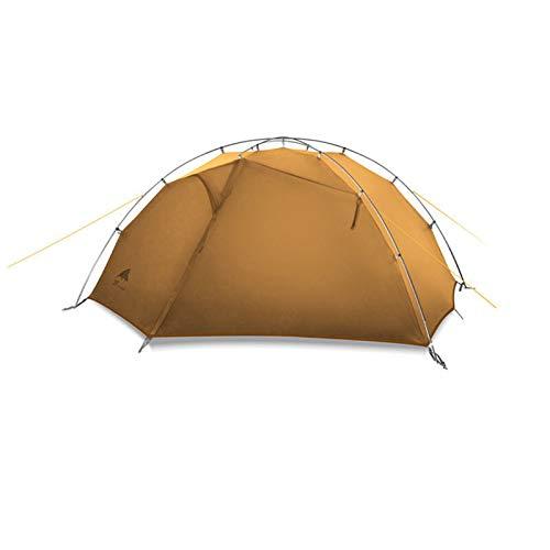 Verde y blanco 4 temporada campaña camping 15d nylon doble capa impermeable carpa a prueba de agua para 2 personas pesca tiendas tiendas de campaña apagón tienda camping tienda de campaña pop up tiend