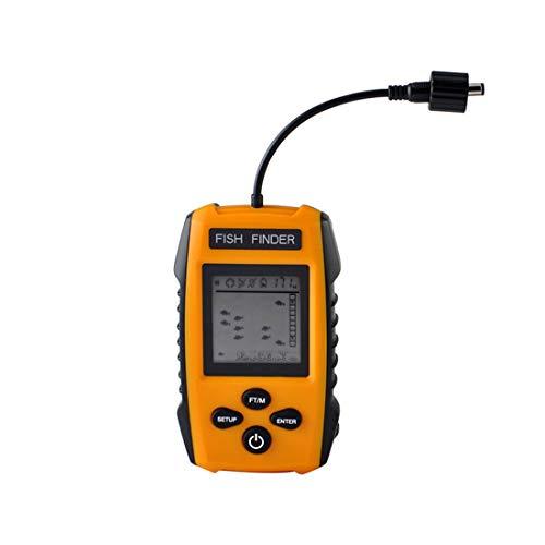 Tuzi QiuGe Fisch finderDual-Kamera visuelle Fischfinder mit Nachtsicht-beweglicher Wired-Fisch-Sucher mit Sonar-Sensor-Transducer und LCD-Display