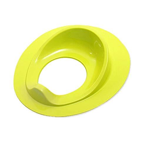 Niños Cuarto de baño WC cojín del asiento del niño del anillo de Formación Potties entrenamiento insignificante cubiertas del asiento Adaptador Wc Niños (Color : GR)