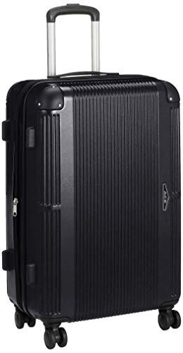 [エース] スーツケース クレート エキスパンド機能 ハンディポーチ付 73L(拡張時) 5~7泊 4.2kg 60 cm ブラック02
