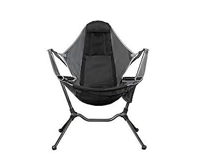 Nemo Stargaze Recliner Luxury Camp Chair, Graphite/Smoke