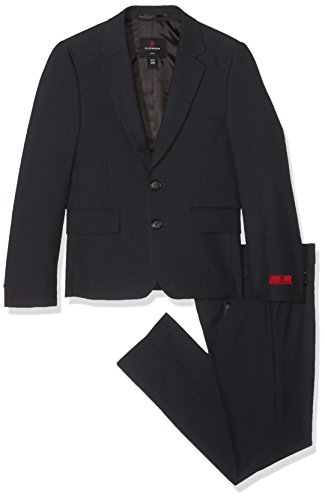 Lemmi Jungen line Slim Anzug, Grau (Phantom 1410), 140