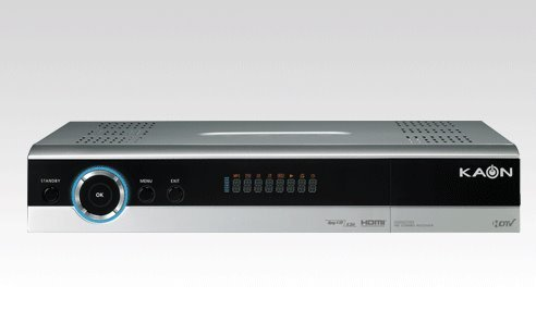 Kaon KSC S660 - digitaler HD Satelliten-Receiver (DVB-S2, HDMI, Scart, 2x Common Interface, USB, DiSEqC 1.2, USALS, silber)
