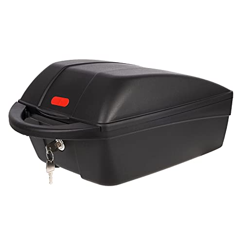 P4B | TOP CASE abnehmbare Gepäckträgerbox für Ihr Fahrrad | Mit Zusatzplatte für QUICK RELEASE System | 11 l Fassungsvermögen