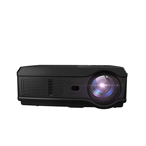 Full HD LED Projector 1080P 5600Lumens 300ansi Projector 3D Video Beamer HDMI for 4K Smart Home Cinema Basic Version Iowa