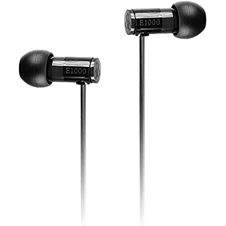 final E1000 In-Ear Isolating Earphones - Black, Designed in Japan