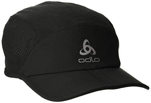 Odlo Erwachsene Kappe Cap CERAMICOOL X-Light, Black, S/M, 762390_15000_S/M