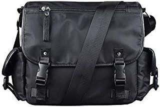 حقيبة ظهر Chliuchihjklstb ، حقيبة يد أكسفورد للرجال حقيبة كمبيوتر محمول سوداء حقيبة كتف للرجال (اللون: أ)