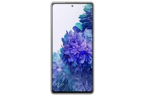 Samsung galaxy s20 fe 5g | factory unlocked android cell phone | 128 gb | us version smartphone | pro-grade camera, 30x space zoom, night mode | cloud white (renewed)