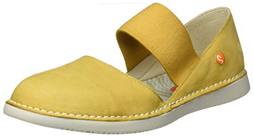Softinos Damen TEJA576SOF Espadrilles, Gelb (Yellow 005), 40 EU