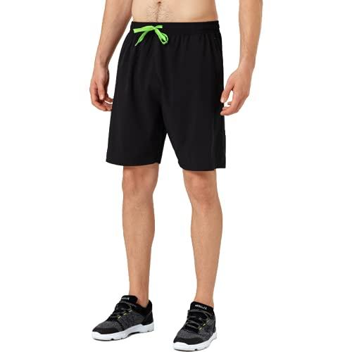 Katenyl Pantalones Cortos Deportivos de Secado rápido para Hombre, Pantalones Cortos Informales Holgados y Transpirables a la Moda, con Tendencia de Fitness, Ropa de Calle a Juego con el Color S