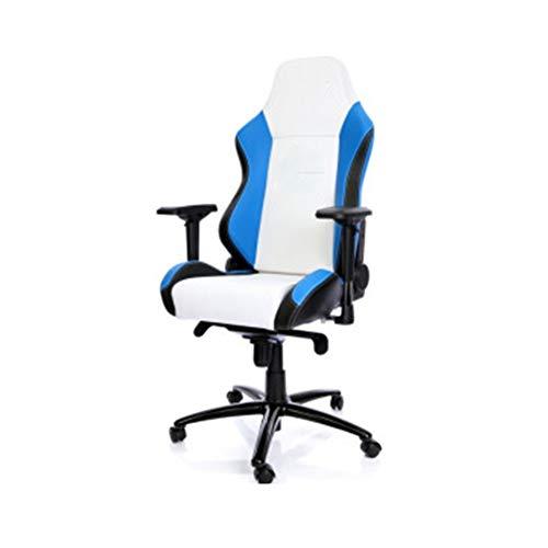 Preisvergleich Produktbild Gaming-Stuhl,  Chefsessel,  ergonomische Rückenlehne,  für Zuhause,  Studenten,  zum Liegen,  Hellblau