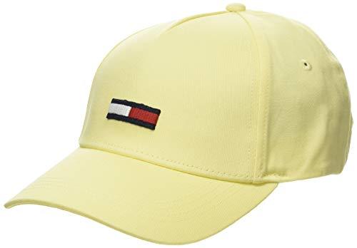 Tommy Hilfiger Tjw Flag Cap Gorra de béisbol, Amarillo, Talla única (Talla del fabricante:) para Mujer