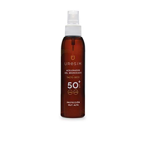 Uresim - Acelerador del bronceado SPF50+, 125 ml