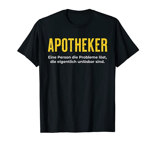 Farmacéutico definicion divertida frase Camiseta