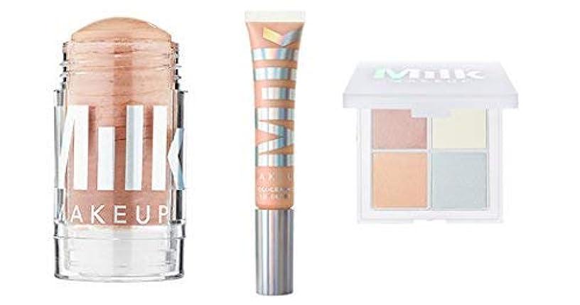 意志に反するハム新年Milk Makeup Holographic Stick, Lip Gloss, and Holographic Powder Quad in Mars [並行輸入品]